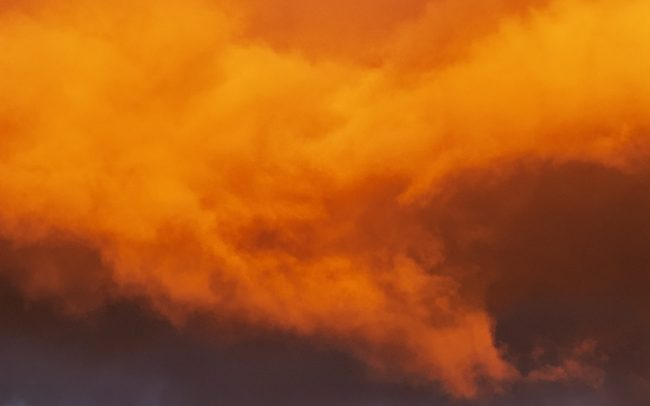 Clouds, Great Rye Island, Slovakia