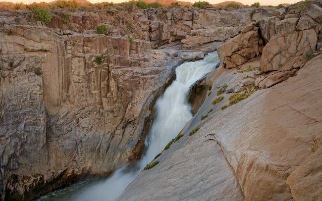 Augrabies vízesés, Augrabies Falls Nemzeti Park, Dél-Afrika